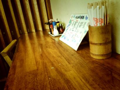 がじまる食堂カウンター写真