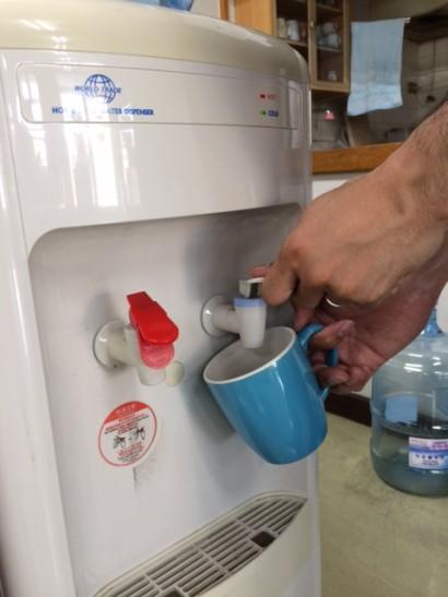 職場で飲める冷水