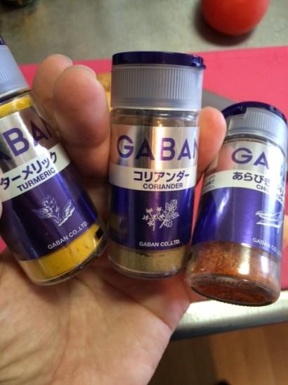インドカレーに使う香辛料